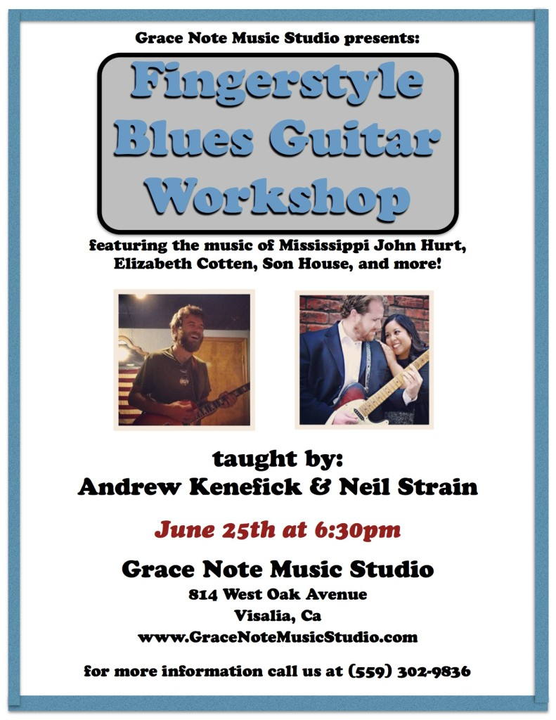 Fingerstyle Blues Guitar Workshop
