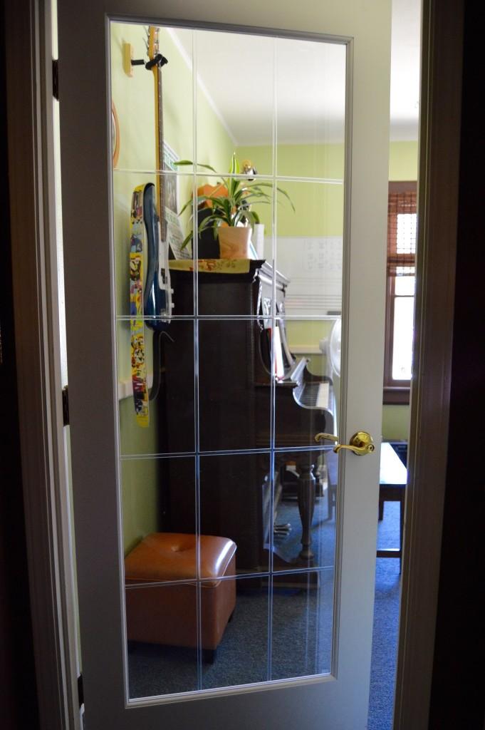 Room 1 Glass Door