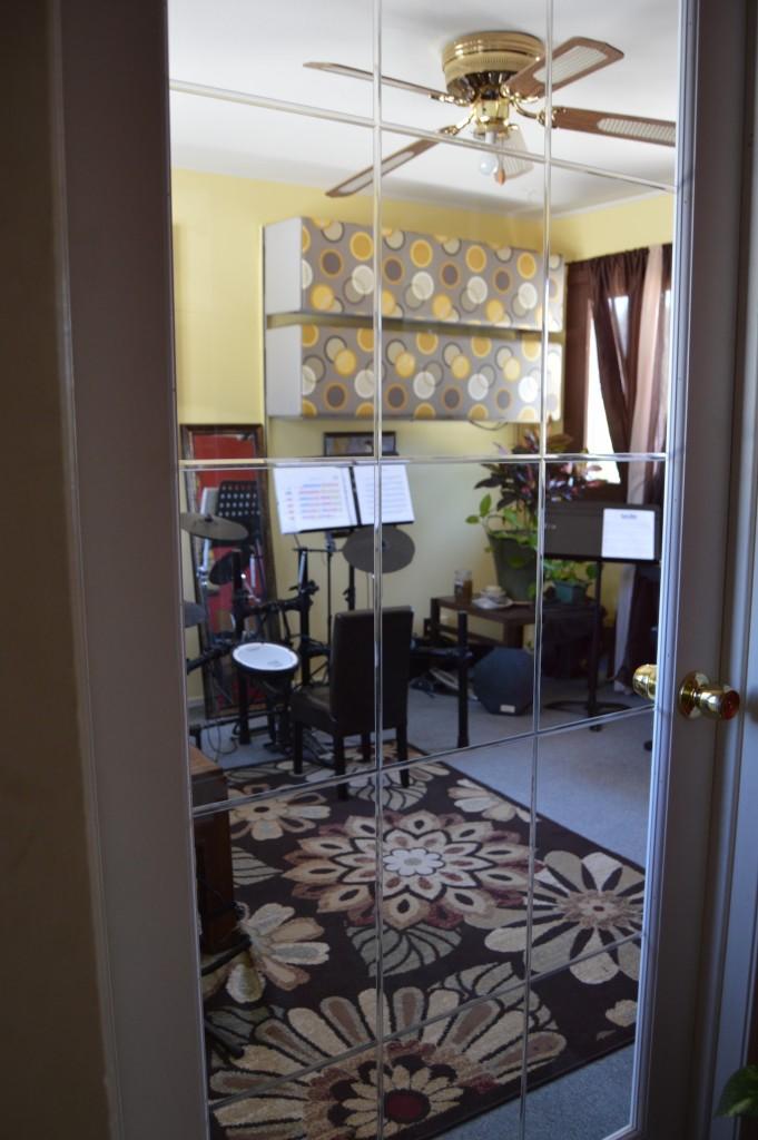 Room 3 Glass Door