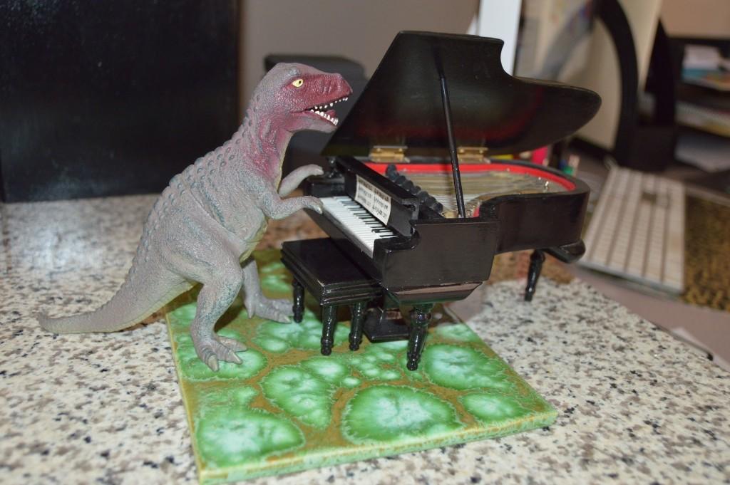 Even T-Rex takes lesson!