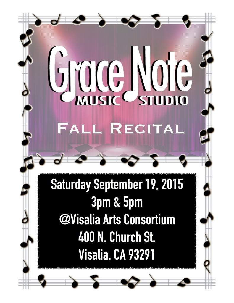 Grace Note Fall Recital 2015-1